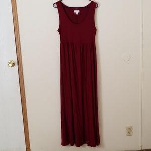 EUC Maternity Maxi Dress